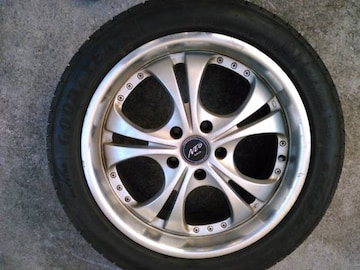 ちょいリム18インチ4本(旧車,1Box.VIPセダン)
