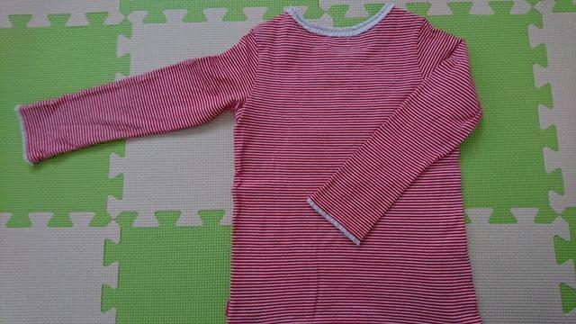 110女の子 ミキハウス長袖Tシャツ 美品 < ブランドの