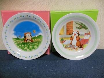 世界名作劇場 あらいぐまラスカル 「花畑」 絵皿(4)