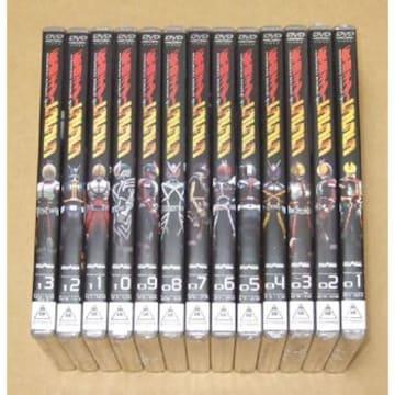 新品 仮面ライダー555 DVD 初回全13巻