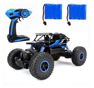 ラジコンカー RCカー 2.4GHZ 4WD blue