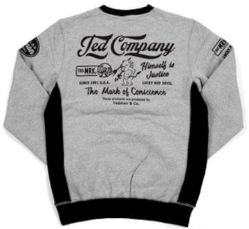 テッドマン/スエット/ash/tdsw-1170/エフ商会/カミナリモータース