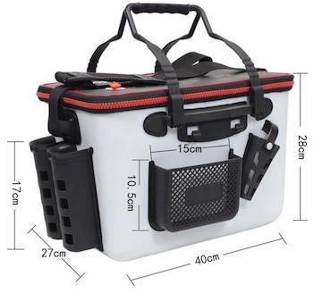 EVA タックルバッグ キーパーバッカン フィッシュキープ