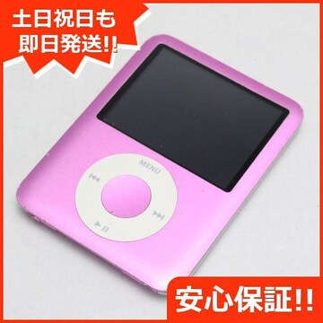 ●安心保証●美品●iPOD nano 第3世代 8GB ピンク●