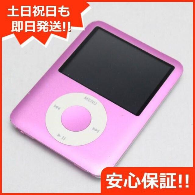 ●安心保証●美品●iPOD nano 第3世代 8GB ピンク●  < 家電/AVの