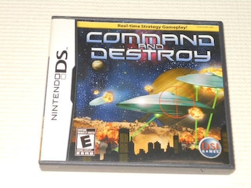 DS★COMMAND AND DESTROY 海外版(国内本体動作可能)