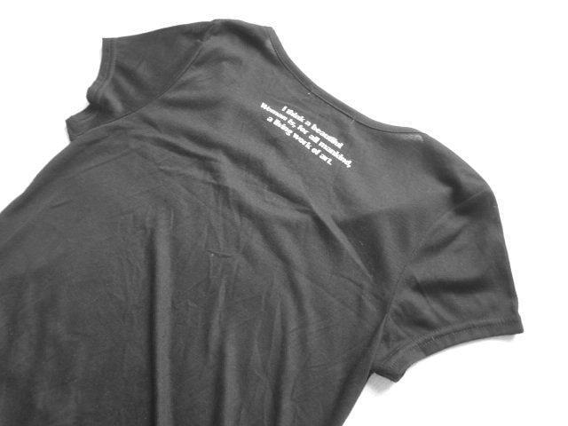新品 定価1995円 ジュリアーノジュリ チュニック Tシャツ < ブランドの