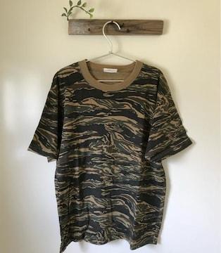 ミリタリー 迷彩 半袖Tシャツ Sサイズ