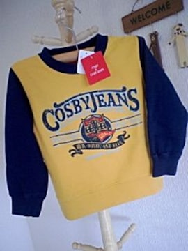 COSBY JEANS新品100カッコイイトレーナー