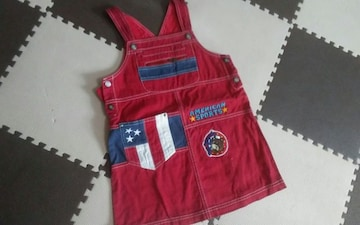 110 CASTEL BAJAC KIDS SPORT 美品 ジャンパースカート