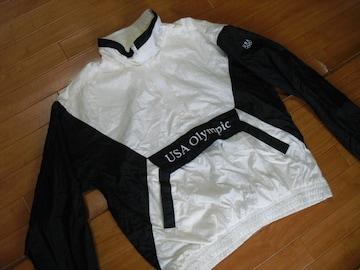 90s USA OLYMPIC オリンピック ジャケット USA−L