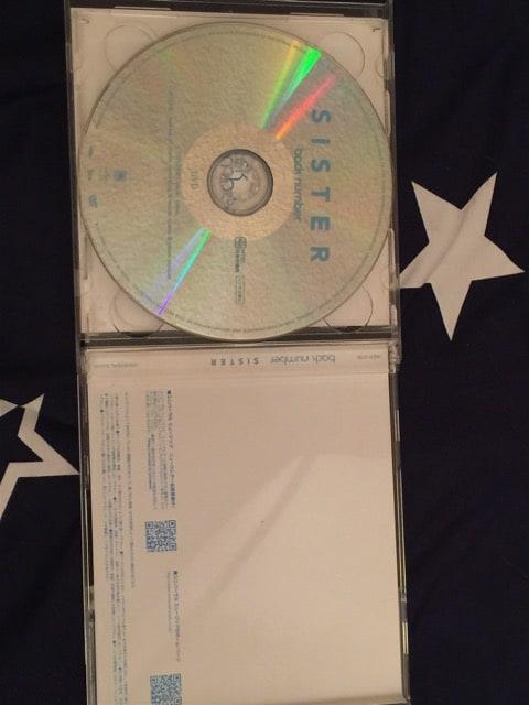 バックナンバー SISTER 初回盤 DVD付き < タレントグッズの