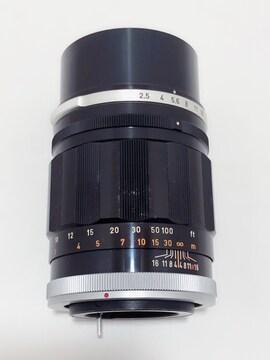 Z171 Canon キヤノン LENS FL 135mm 1:2.5 大口径中望遠 レンズ