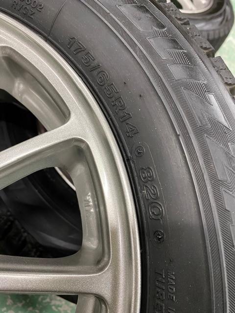 1082752激安国産ブリヂストンスタッドレスタイヤアルミホイ-ルセット175/65R14送料無料 < 自動車/バイク