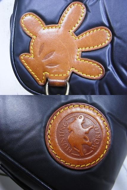 ★本物正規ハンティングワールドxディズニーコラボ バチュークロス ショルダーミッキー