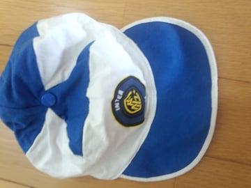 青の帽子・男の子用〔9〜12�a〕