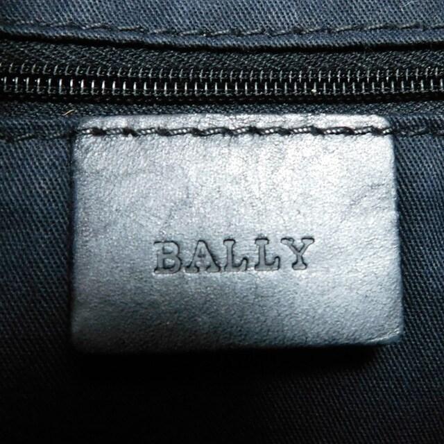 BALLバリー ショルダーバッグ 黒白 良品 正規品 < ブランドの