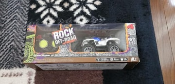 ROCK OFF-ROAD R/C (1:43)(ブルー)!