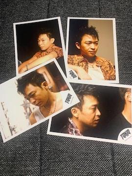 ★送料無料★TOKIO・城島茂・公式写真4枚セット