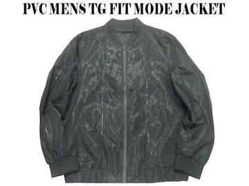 新品 TG FIT ジップアップモード系スタイルジャケット 黒