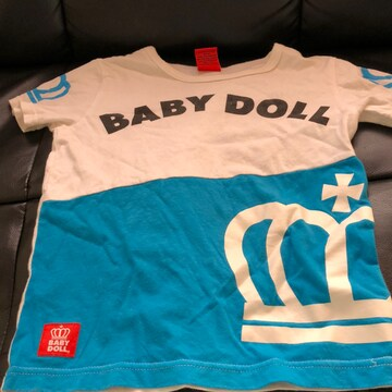 BABY DOLL切り替えTシャツ120