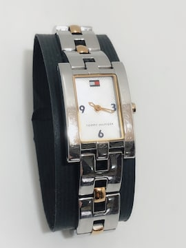 T204 TOMMY HILFIGER 腕時計 T00198 レディース シルバー