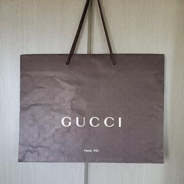 【GUCCI★ショップ袋】大サイズ♪グッチ♪プレゼントなどに♪