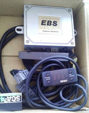 ナイトスポーツ RX7 FD3S ブーストコントローラー EBS中古品