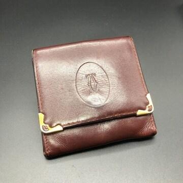 即決 Cartier カルティエ コインケース 小銭入れ