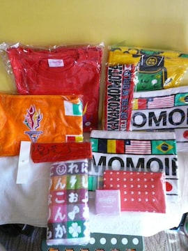 ももいろクローバーZ「スポーツタオル&Tシャツ他セット」(14)