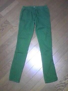 Recette A la mode//パンツ/ズボン/緑ドット柄/M