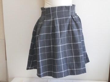 ★titty&co. チェックフレアスカート★