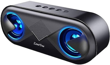 ZoeeTree bluetooth スピーカー ワイヤレススピーカー 高音質 重