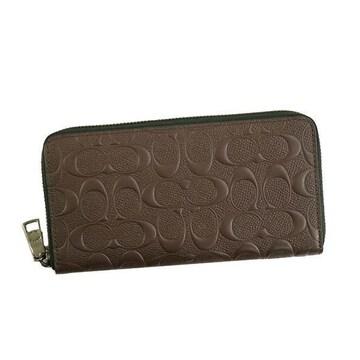 ◆新品本物◆コーチ シグネチャー アコーディオン ジップ 長財布(MAH)F58113◆