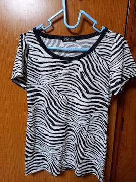 �H ゼブラ柄のシャツ