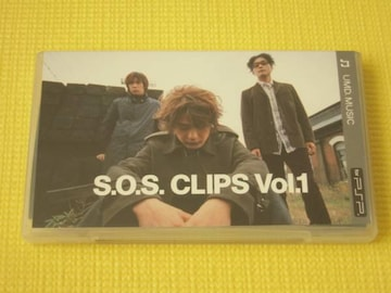 PSP★Skoop On Somebody S.O.S. CLIPS Vol.1 UMD VIDEO