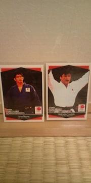 吉田秀彦・井上康生 オリンピック カード