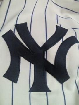 野球 アメリカ メジャーリーグ NY ニューヨーク ヤンキース 半袖 ユニフォーム ホーム XL