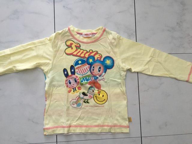 MINI-K長袖Tシャツ☆100cm  < ブランドの