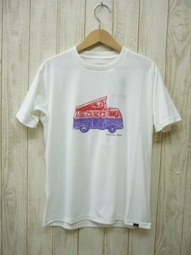 即決☆マーモット特価キャンピングカー半袖TシャツWHT/XL 吸汗・速乾