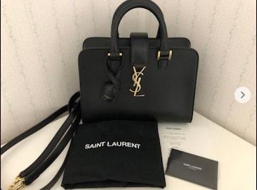イヴサンローラン バッグ 黒 2way 財布 SaintLaurent キーケース