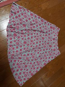 ホコモモラ☆花柄スカート