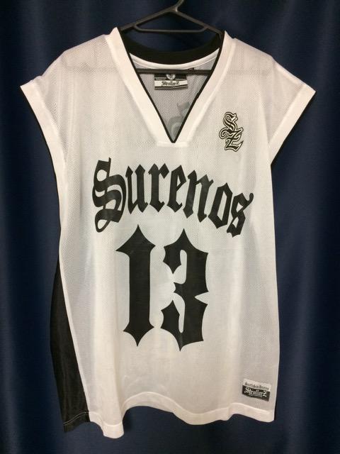 strollerz バスケット ゲームシャツ XL  < 男性ファッションの