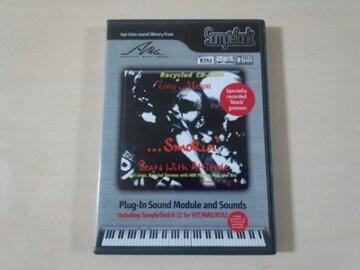 SampleTank用拡張音源CD-ROM TONY MASON SMOKIN'