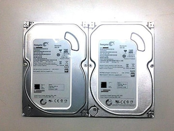 ★ハードディスク シーゲート ST500DM002 500GB SATA 2個セット