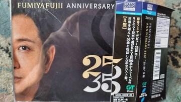 藤井フミヤ(チェッカーズ) 25/35 R盤 3枚組ベスト 帯付き
