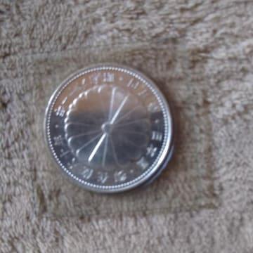 天皇即位 記念硬貨 1万円