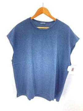 LAD MUSICIAN(ラッドミュージシャン)オーバーサイズノースリーブTシャツクルーネックTシャツ