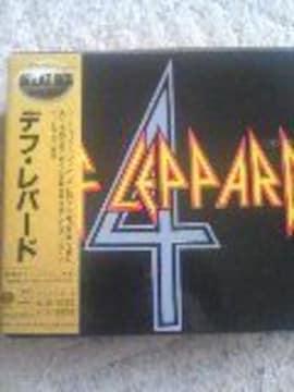 DEF LEPPARD Great Box CD4枚組