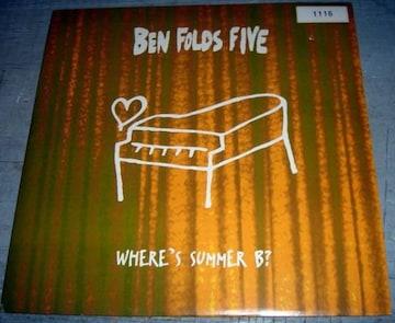 BEN FOLDS FIVE WHERE'S SUMMER B